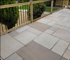 Paving slabs patio pathway